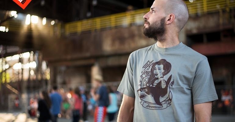 Československá festivalová kolekce triček Ordinary Czech Guy