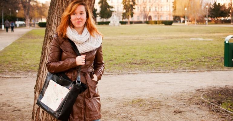 Amélie na výletě aneb jeden den v životě tašky