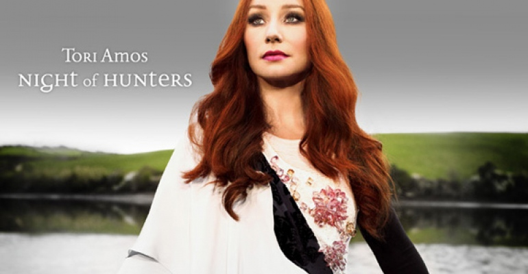 Tori Amos vydala album Night of Hunters