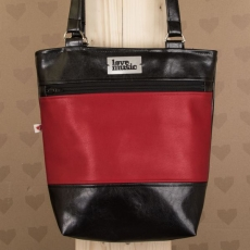 Respect Bag Deluxe-  Black and red