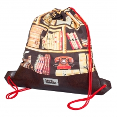 City Bag with latherette -  Library
