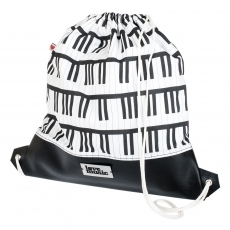City Bag with latherette -  Piano