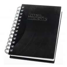 Small notebook - lovemusic