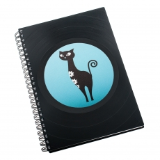 Notebook - Blue Cat