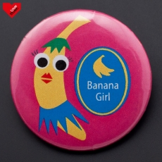 Banana Girl  - placka